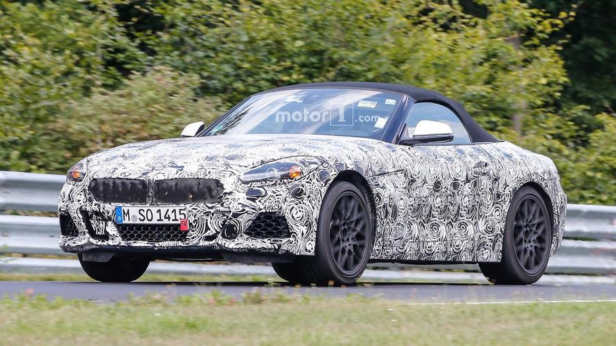 Photos espion - Le futur BMW Z4 se découvre davantage