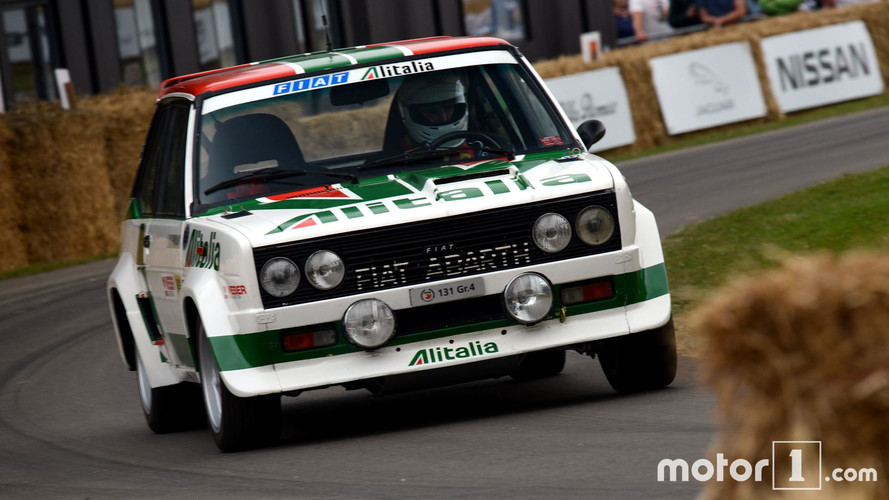 Less Than Two Minutes With An Abarth 131 Rally Car