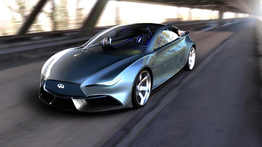 Un designer imagine l'Infiniti Q50 EV, un concept 100% électrique