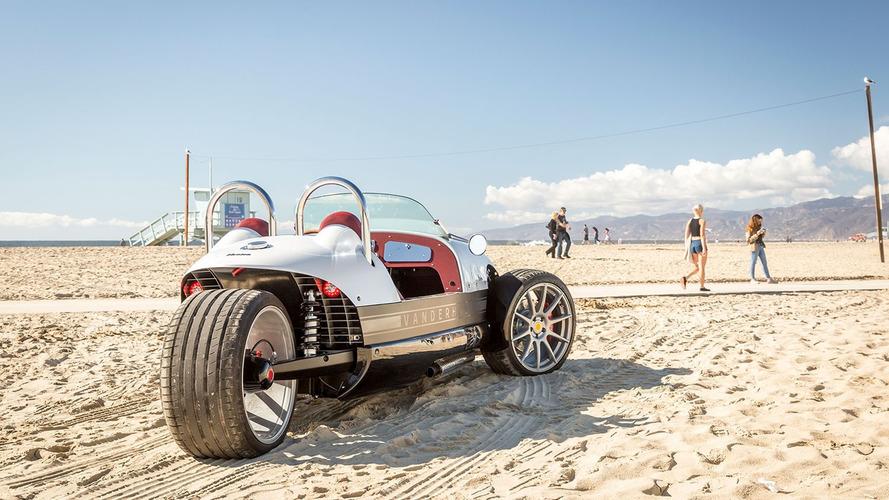 Vanderhall unveils lower-cost Venice Roadster three-wheeler