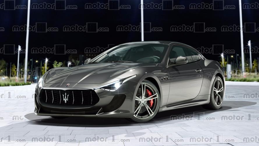 Maserati GranTurismo 2018 - L'image la plus proche de la réalité en exclusivité