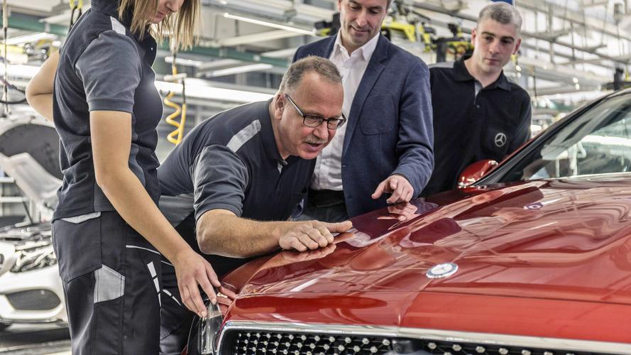 Mercedes Classe E Coupe production