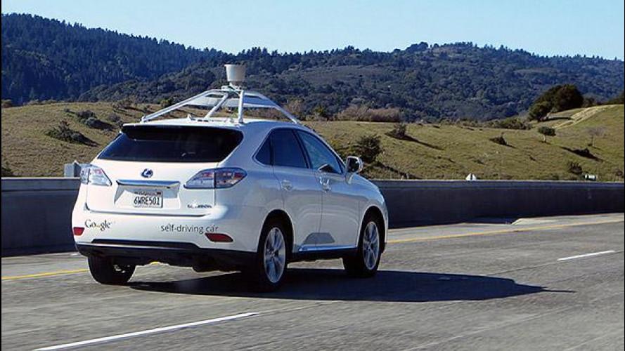 Auto a guida autonoma, primi piccoli incidenti in California