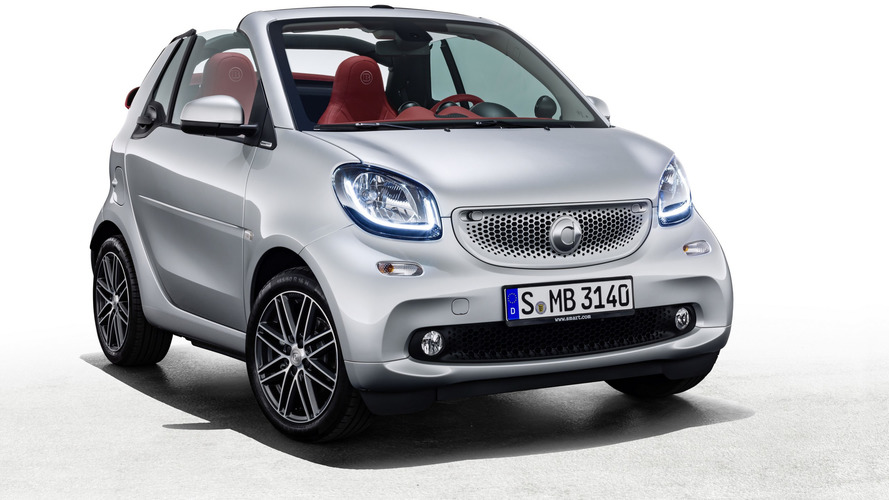 smart fortwo cabrio BRABUS edition #2 y forfour crosstown edition