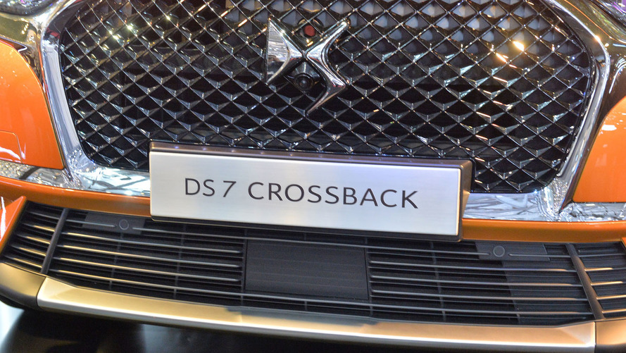 DS 7 Crossback resmi fotoğraflar