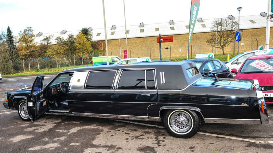 President Trump\'s Cadillac limousine for sale in U.K.