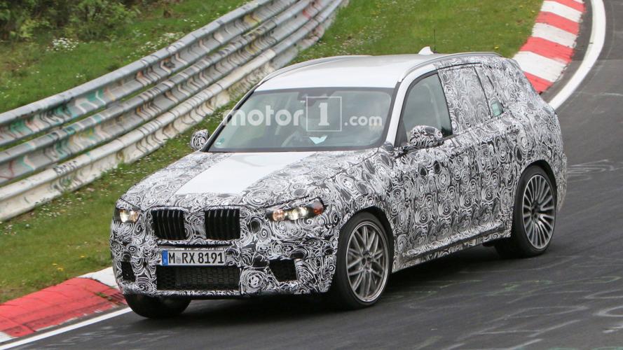 BMW X3 M prototipi, Nürburgring'de turladı