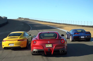 Stingray, 911, F12berlinetta: Head to Head to Head [video]
