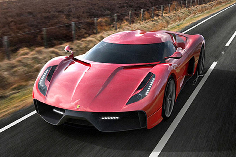 Ugur Sahin Design Project F is a Ferrari 458-Based Work of Art