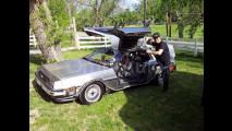 KITT Made in Italy e la DeLorean di Ritorno al Futuro