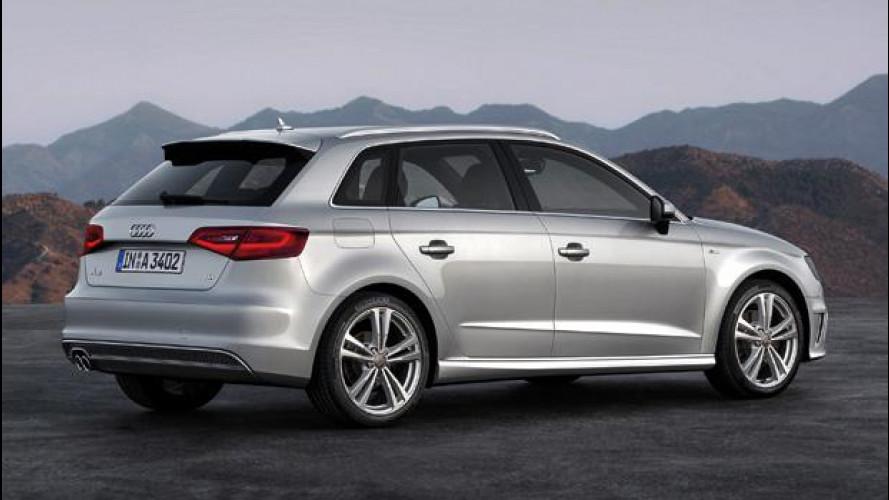 Nuova Audi A3 Sportback: prezzi a partire da 23.900 euro
