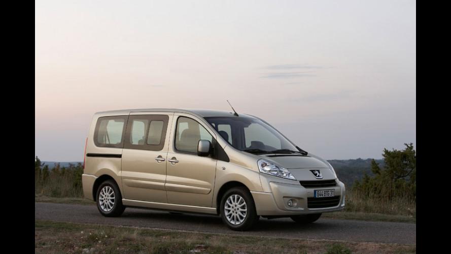 Il nuovo Peugeot Expert Tepee