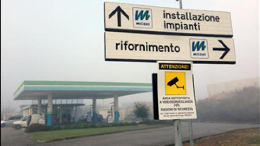 L'Italia è la patria delle auto a metano
