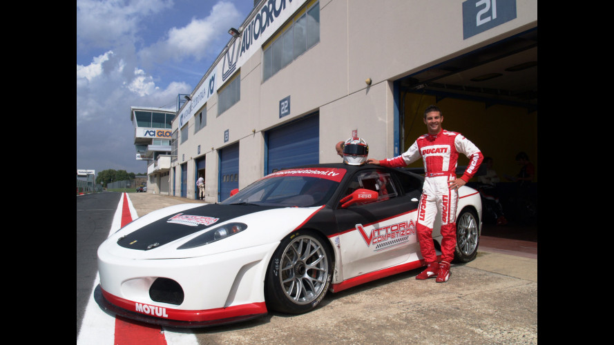 Michel Fabrizio vuole correre in Ferrari