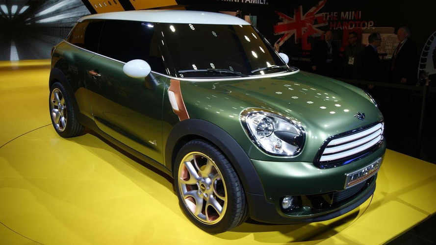 MINI Paceman name confirmed