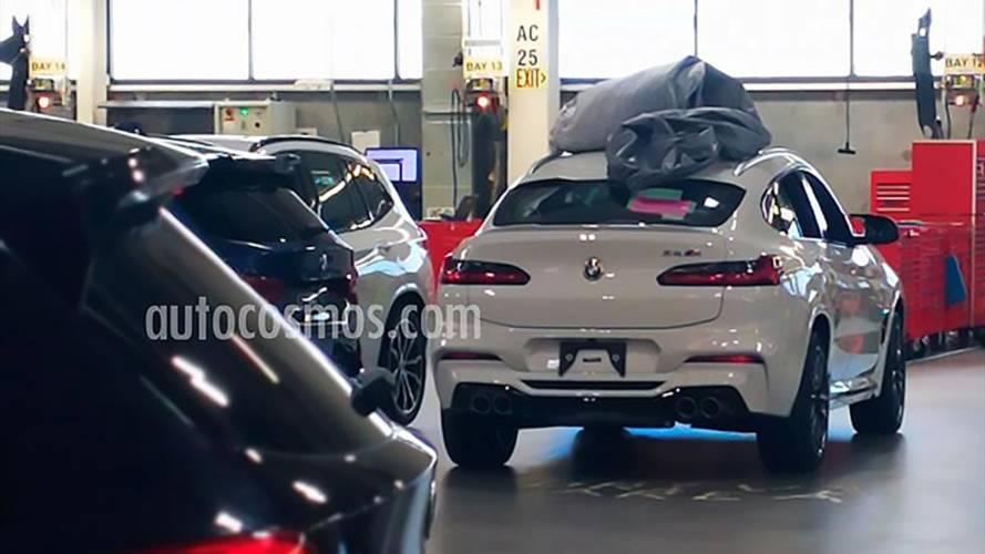 BMW X4 M 2018, cazado sin ningún tipo de camuflaje