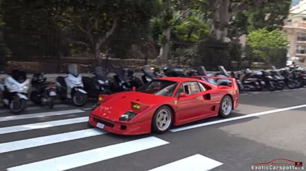 Ferrari F40 With Straight Pipes Sounds Like An Invading Army