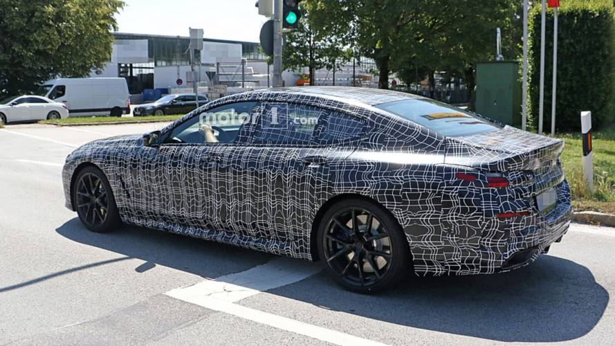 bmw 8 series gran coupe spied in public for the first time. Black Bedroom Furniture Sets. Home Design Ideas