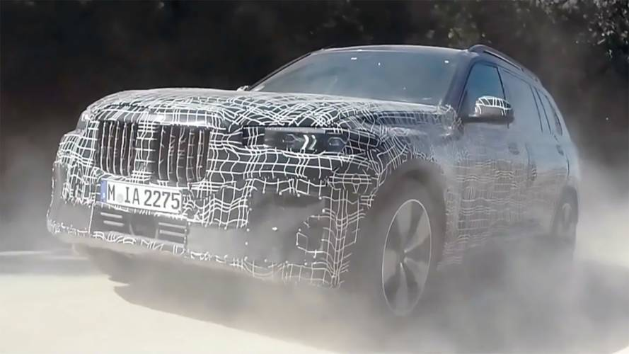 New BMW X7 put to task in latest teaser video