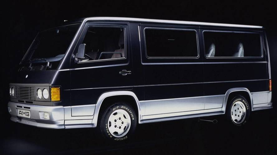 Did You Know? AMG Once Made A Diesel Van And The World Didn't End