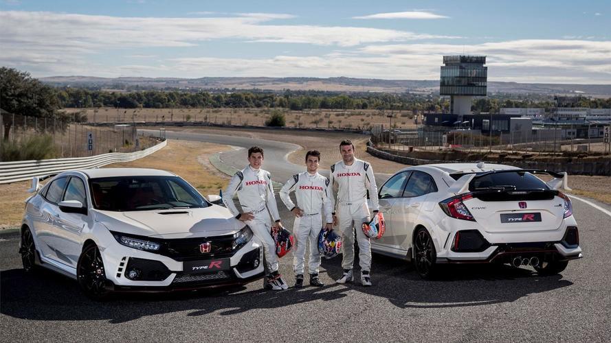 Los pilotos de HRC estrenan su Honda Civic Type R