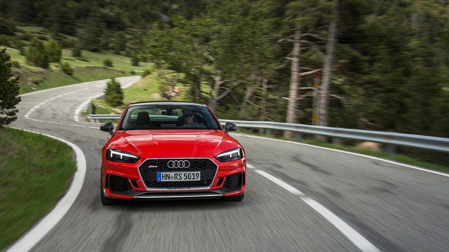 Audi RS4 Avant, RS5 Coupe Carbon Editions Drop Weight, Look Great