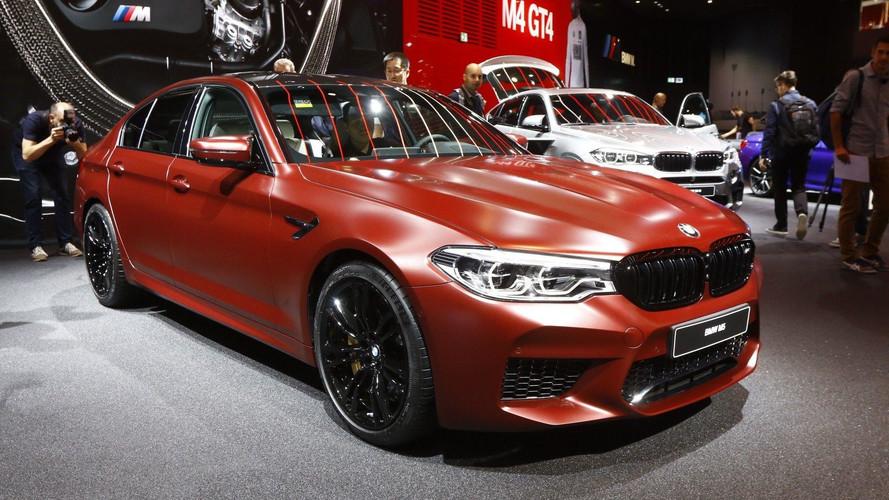 BMW M5 2018, galería actualizada con fotos del salón de Frankfurt