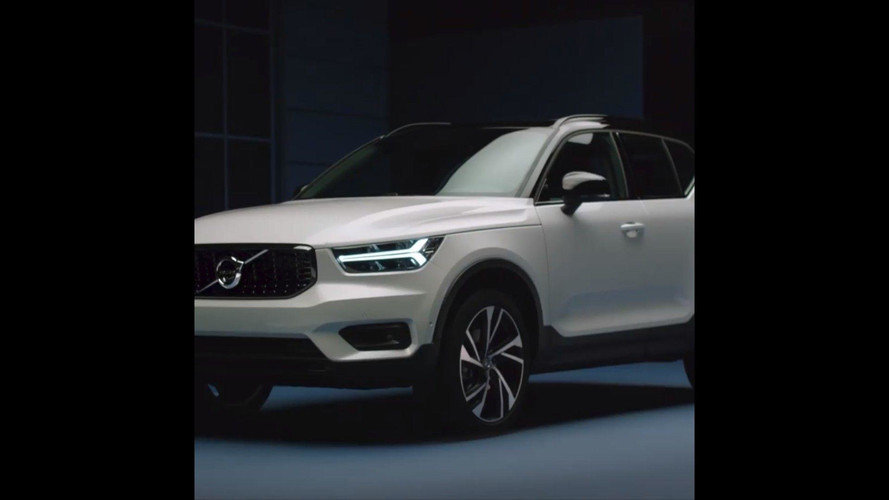 2018 Volvo XC40 revealing screenshots from teaser video