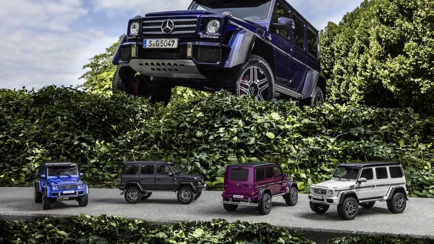 Mercedes G500 4×4², tan asequible... como un coche a escala 1:18