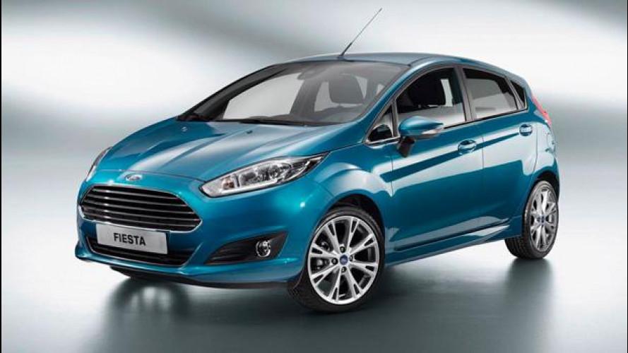 La Ford Fiesta restyling nascerà a Parigi