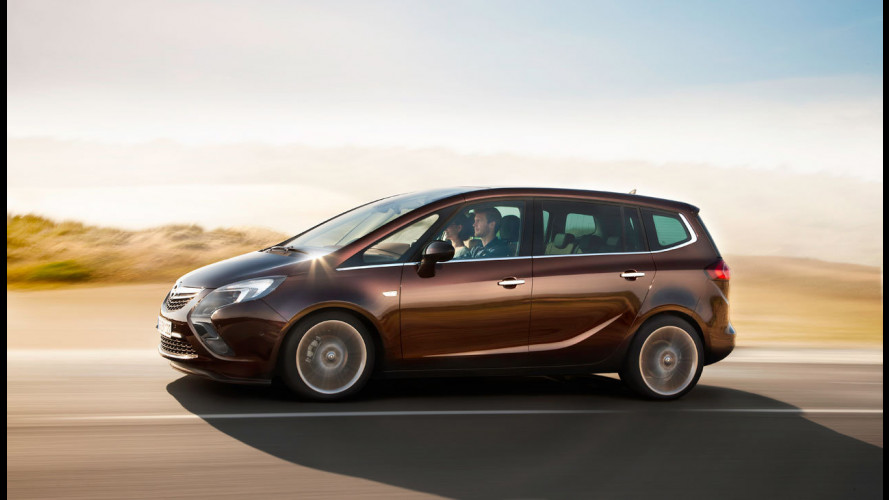 Nuova Opel Zafira Tourer