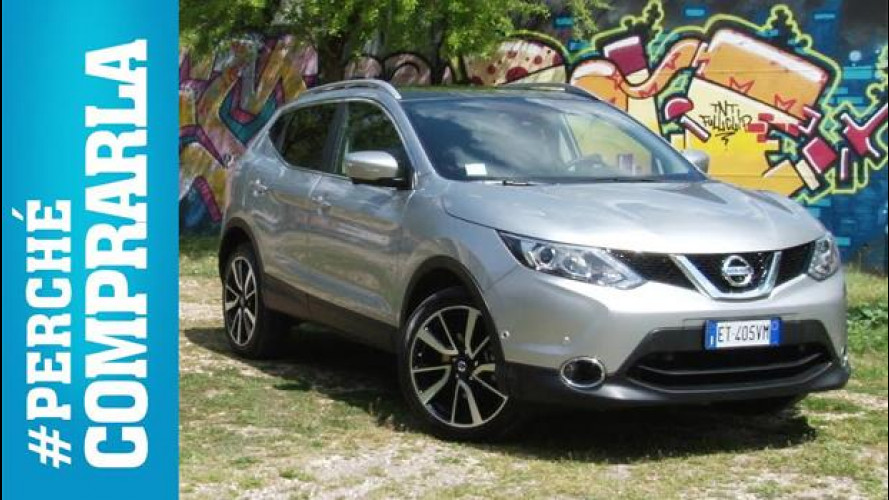 Nissan Qashqai, perché comprarla... e perché no [VIDEO]