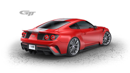 Zero to 60 Designs karmaşayı ortadan kaldırmak için GTT logosu tasarladı