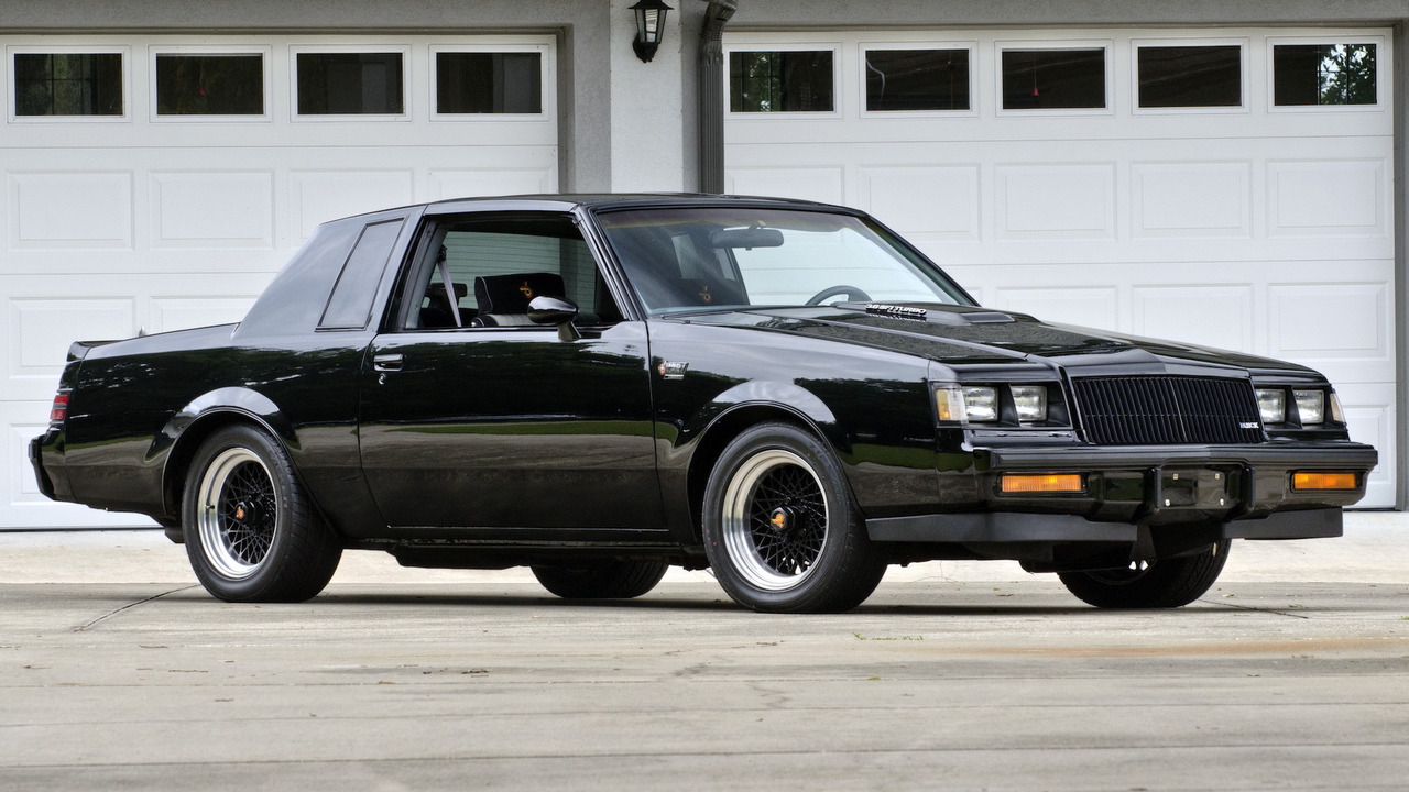 1. 1987 Buick Regal Grand National / GNX
