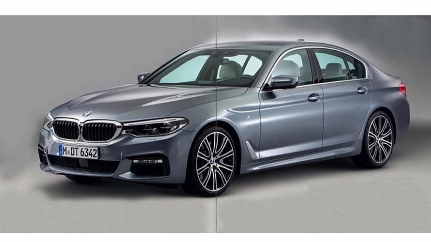 BMW Série 5 2017 - Les premières photos dévoilées avant l'heure