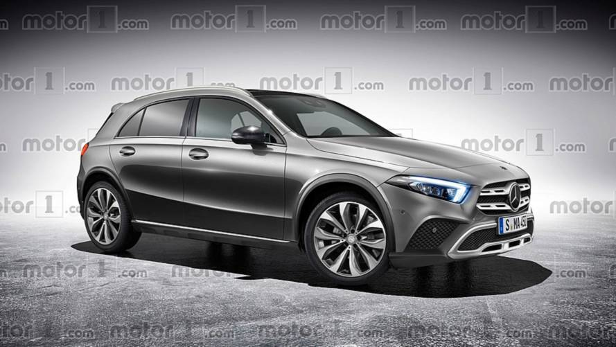 Le prochain Mercedes GLA plus vrai que nature