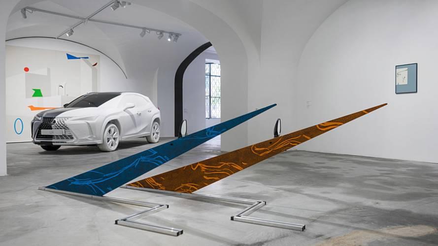 Le Lexus UX mis à l'honneur dans une galerie éphémère
