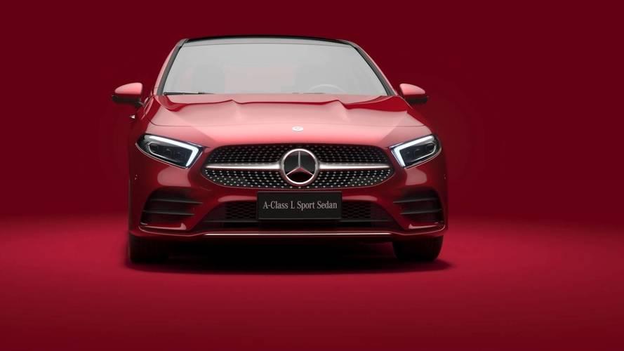 Mercedes A-osztály szedán, nyújtott tengelytáv