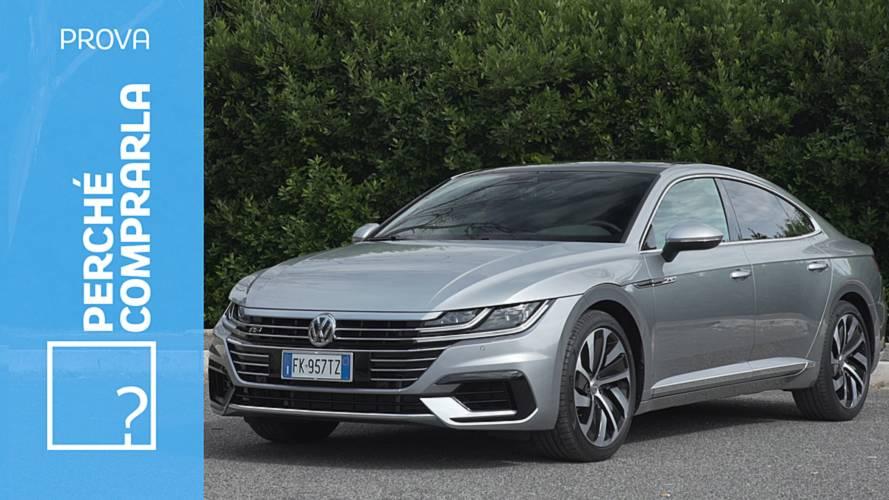 Volkswagen Arteon, perché comprarla... e perché no