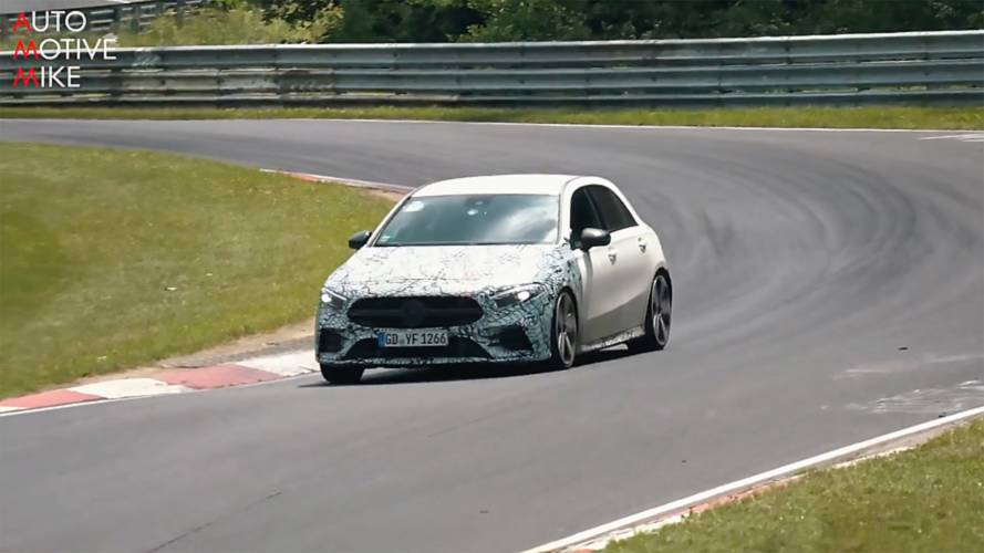 Mercedes-AMG A35 Spied Hustling Around The Nürburgring
