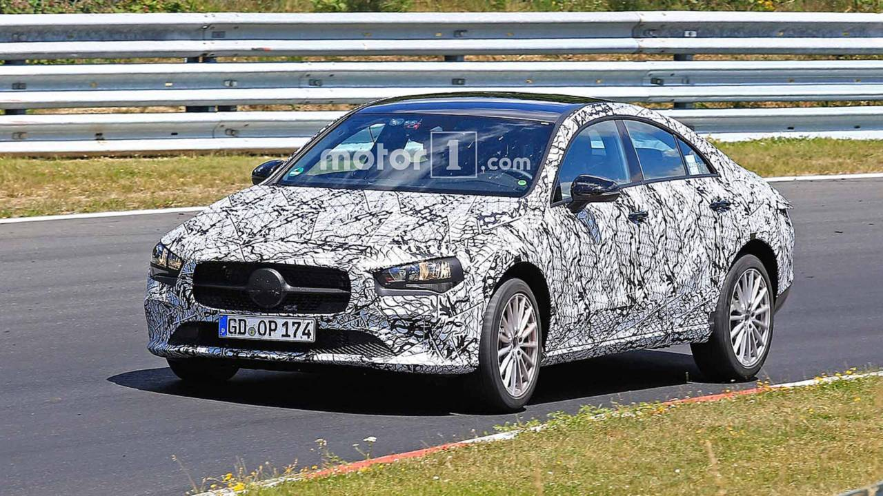 Next gen mercedes cla prototypes caught in different trim for Cla mercedes benz