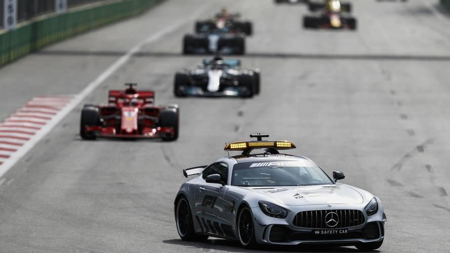 Lewis Hamilton Says Sebastian Vettel Broke Safety Car Rules In Baku