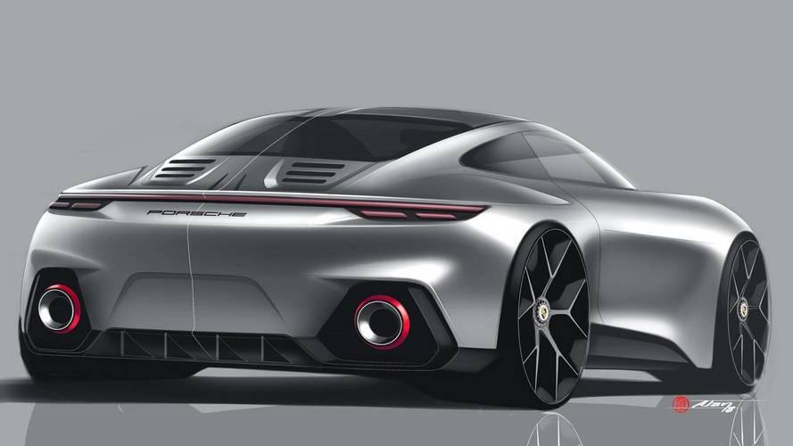 Porsche 911 hayran tasarımı oldukça garip