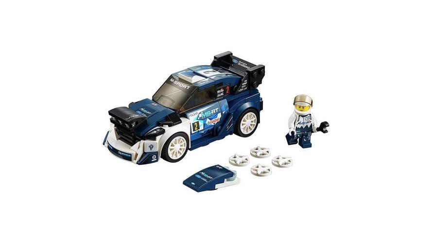 LEGO'dan Ford Fiesta WRC'li otomobil seti