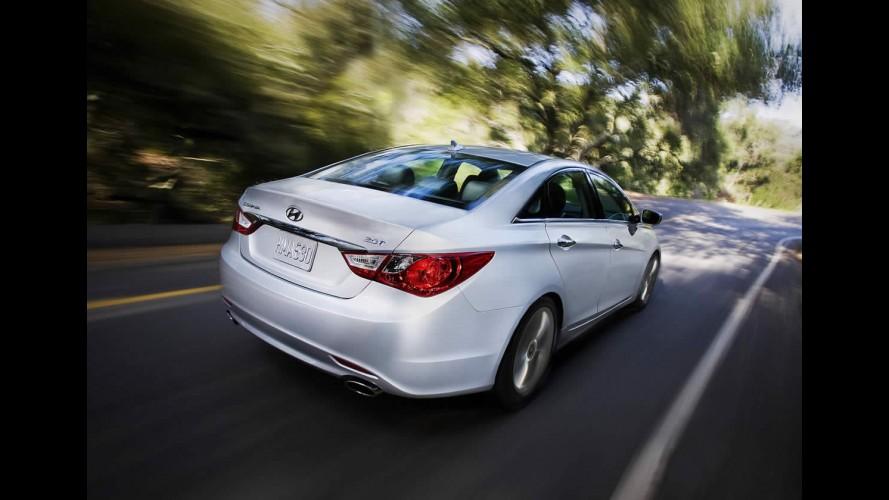Elegant Salão De Nova York: Hyundai Apresenta O Novo Sonata 2.0 Turbo (2.0T) 2011