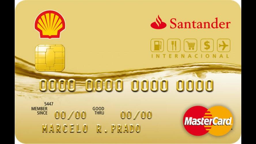 Cartão de Crédito Shell Santander dá desconto em combustível, produtos e serviços