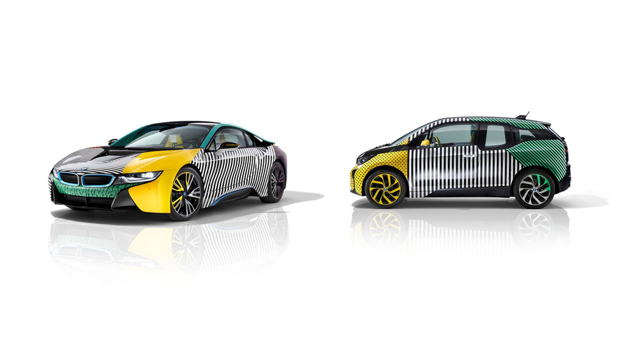 BMW i3 and i8 MemphisStyle