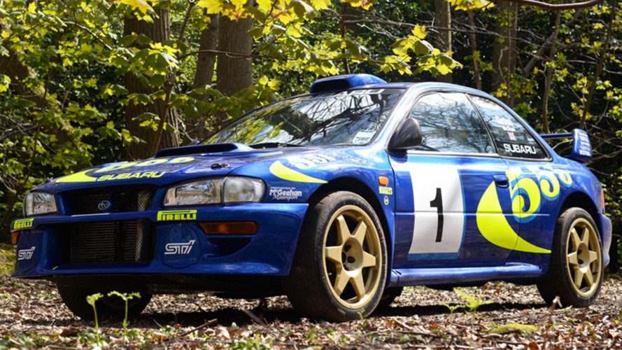Colin McRae's Subaru Impreza WRC Test Car Sells For Nearly $300K