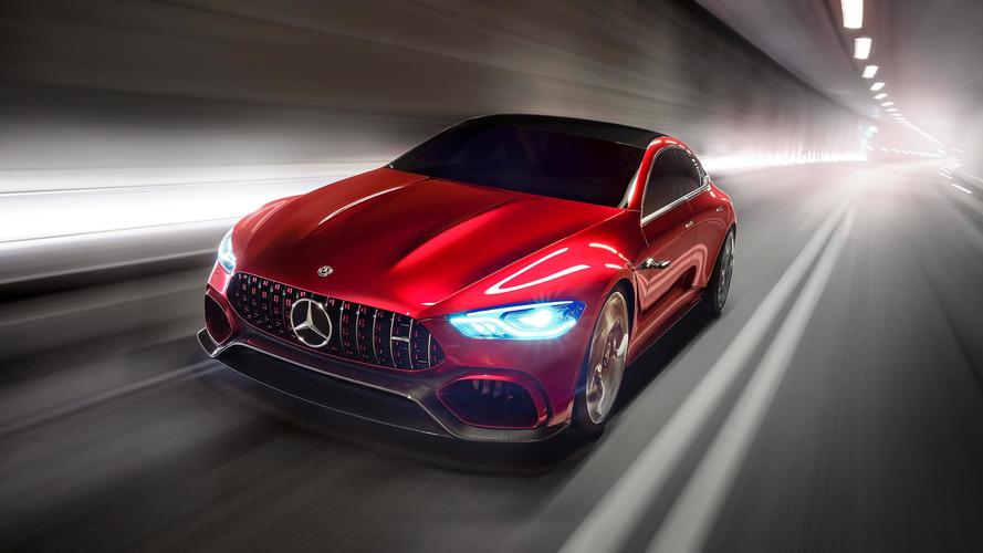 Mercedes-AMG GT Concept 2017: híbrido y con cuatro plazas