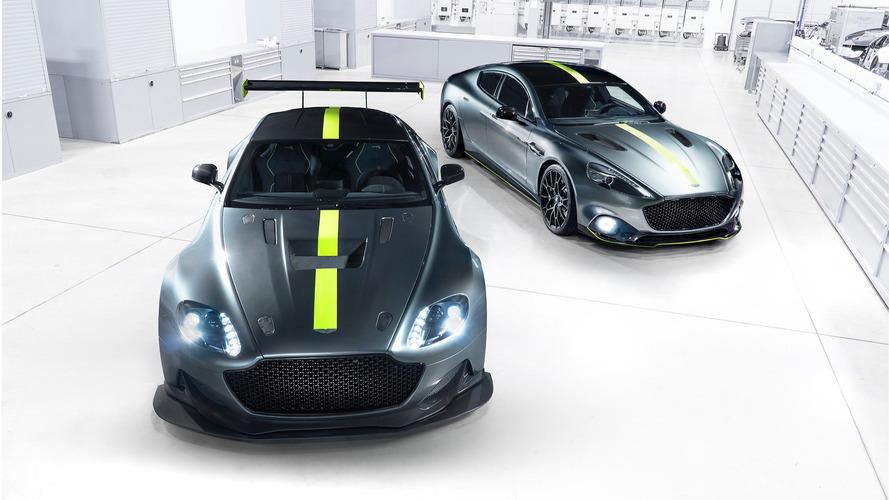 Aston Martin'in AMR markası Vantage ve Rapide konseptleriyle tanıtıldı